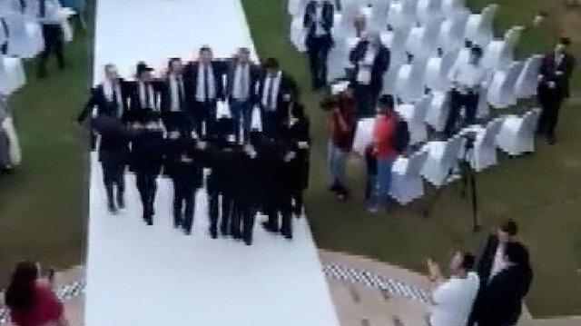 BAE'de ilk Yahudi düğünü: İsrail medyası 'tarihi' olarak nitelendirdi