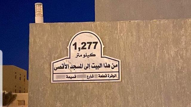 Kuveytlilerden anlamlı soru: Mescid-i Aksa evinizden ne kadar uzak?