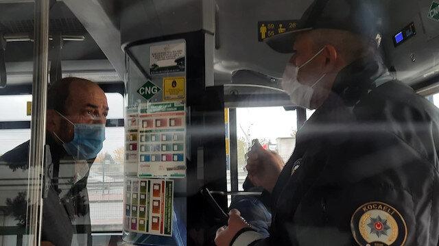HES kodu olmadan otobüse binmeye çalıştı, ortalık karıştı: Şoför polis çağırmak zorunda kaldı