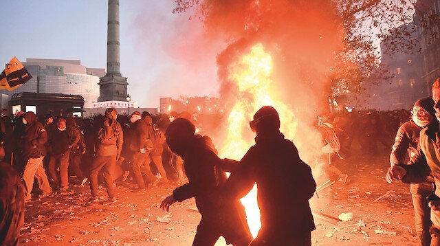 Macron'un kör şiddeti