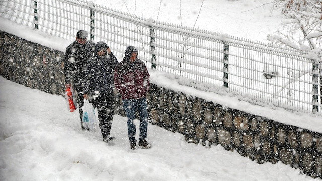 Meteoroloji'den kar ve yağmur uyarısı!