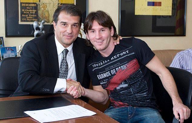 Laporta ve Messi