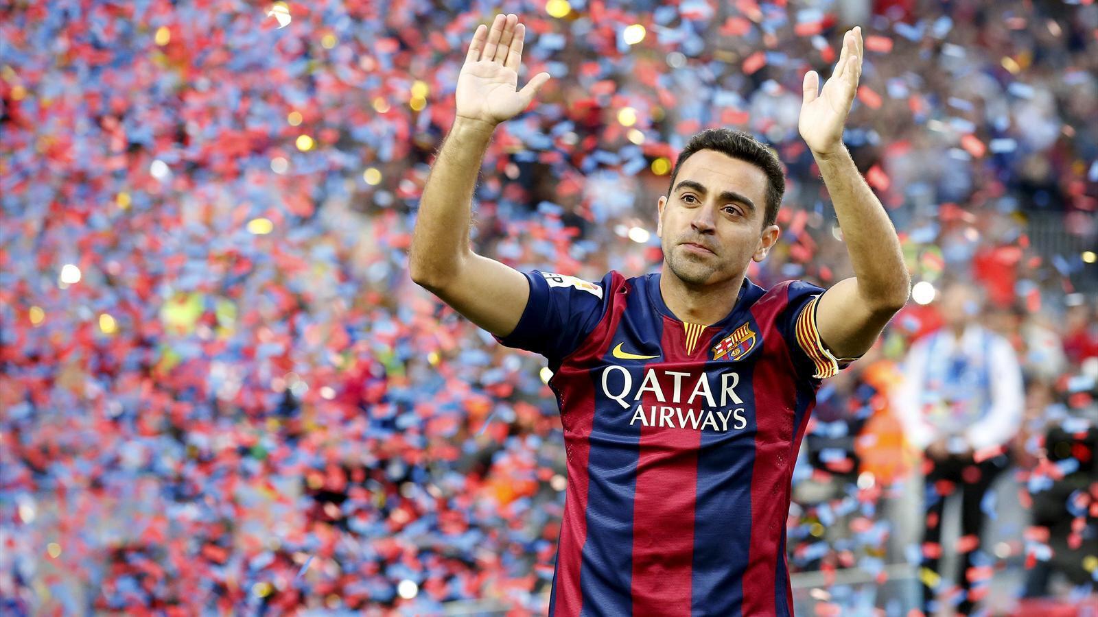 Xavi, Katalan ekibinin unutulmaz futbolcuları arasına adını yazdırdı.