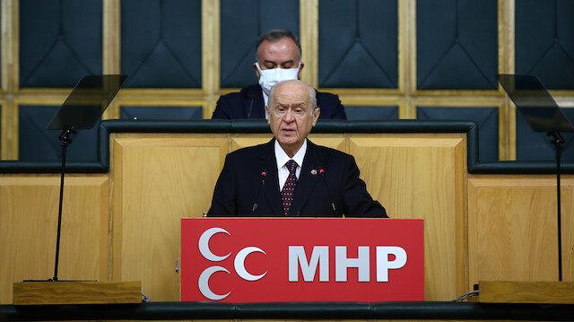 MHP Genel Başkanı Bahçeli: Askere düşmanlık düşmana askerliktir