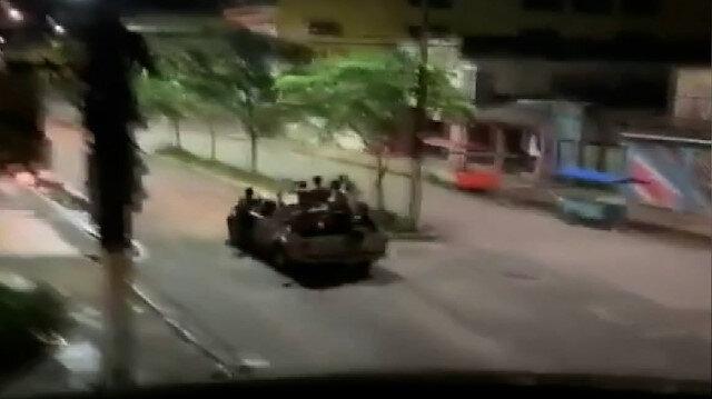 Brezilya'da savaş gibi soygun: Hırsızlar polisle çatıştı, şehri kuşattı