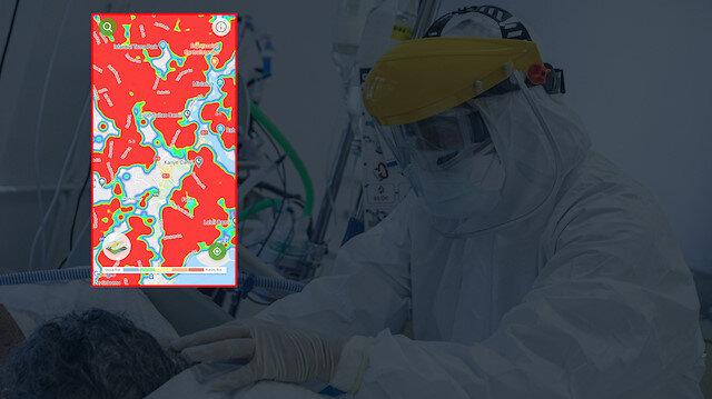 Türkiye'nin il il koronavirüs yoğunluk haritası güncellendi