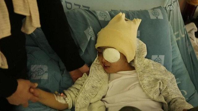 İşgalci İsrail askerlerinin başından vurduğu çocuk gözünü kaybetti: Soruşturma kapatıldı