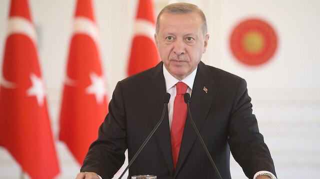 Cumhurbaşkanı Erdoğan: Türkiye kültür ve sanatta da prangalarından kurtulmuştur