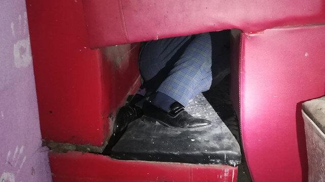 Koronavirüs tedbirlerine uymadılar, polis basınca koltukların arasına gizlendiler