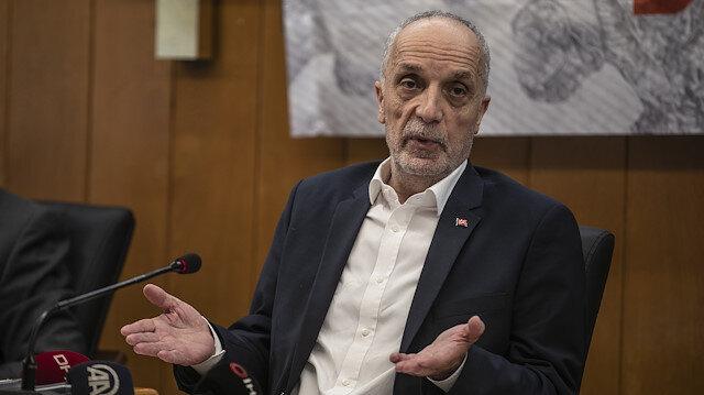 Türk-İş Genel Başkanı Atalay: Asgari ücrette 'evet' diyeceğimiz bir rakam geleceğini umut ediyoruz