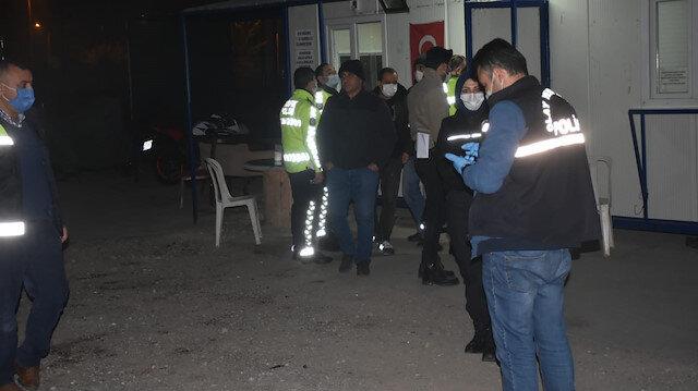 İzmir'de Türk Polis Teşkilatı Güçlendirme Vakfı Otoparkı'na silahla ateş açıldı