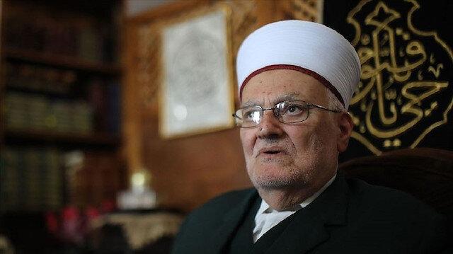 Mescid-i Aksa İmam Hatibi Sabri: Türk halkının Kudüs davasında durduğu yer çok stratejik
