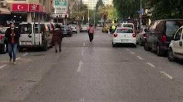 İzmir'den, 4.1 şiddetinde deprem sonrası ilk görüntüler