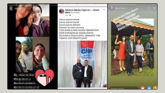 Eski CHP'li yöneticilerden 'tacizci' başkana destek paylaşımları