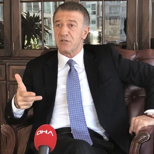 Trabzonspor Başkanı Ahmet Ağaoğlundan Alexander Sörloth açıklaması