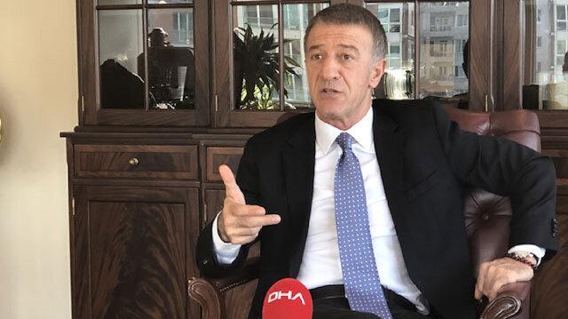 Trabzonspor Başkanı Ahmet Ağaoğlu'ndan Alexander Sörloth açıklaması