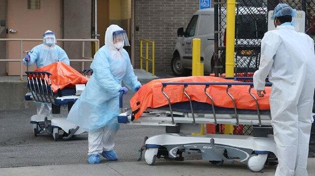 ABD'de koronavirüs sebebiyle son 24 saatte 3 bin 31 kişi hayatını kaybetti