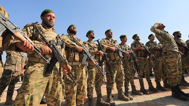Suriye Milli Ordusu ilk askeri kışlasını törenle açtı