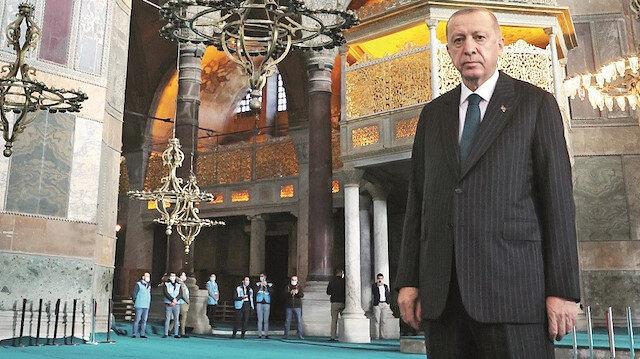 Erdoğan Fransa'ya seslendi: Macronbelasından kurtulun