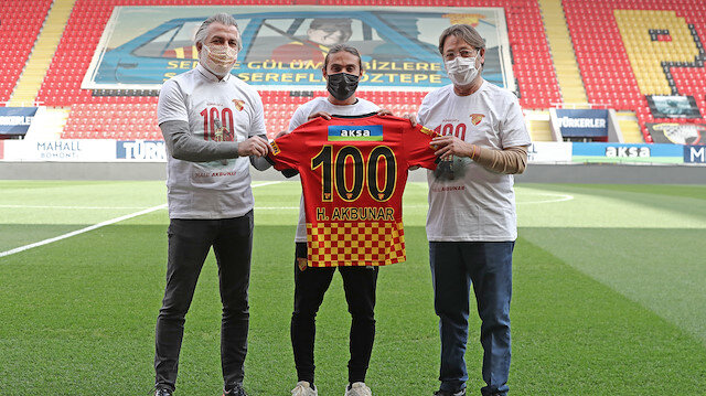 Halil Akbunar Göztepe tarihine geçti: Bunu başaran 24. futbolcu oldu
