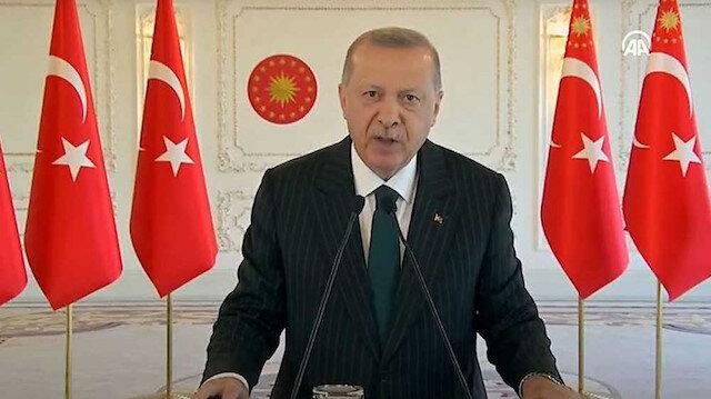 İlk Milli Helikopter Motoru Teslim Töreni'nde Cumhurbaşkanı Erdoğan'dan önemli açıklamalar