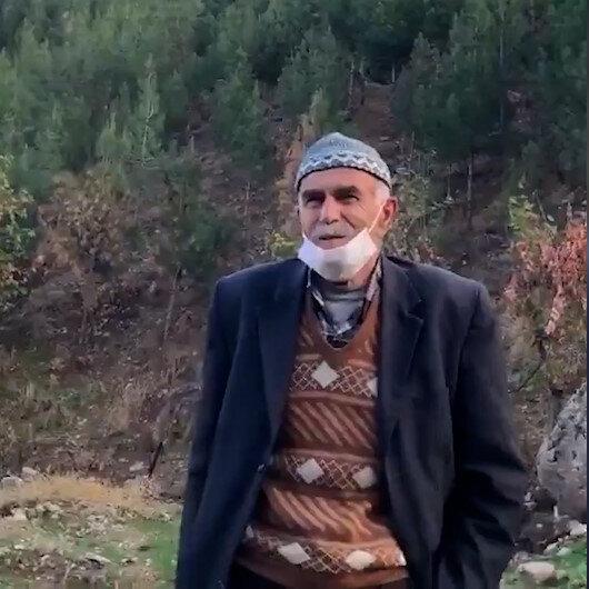 Şeyhmus Amca Mardinde çöplük denilen yere binlerce fidan dikerek ormana çevirdi