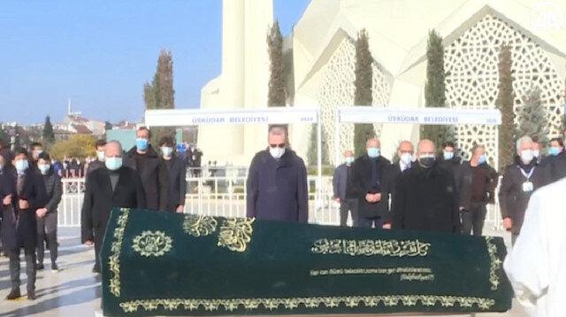 Cumhurbaşkanı Erdoğan armatör Turgut Kıran'ın cenazesine katıldı