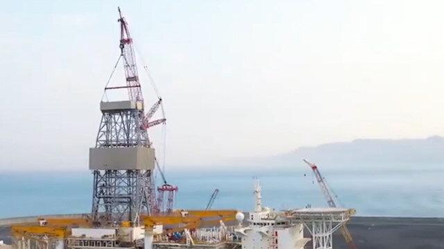 'Kanuni, hırçın Karadeniz'de sondaja açılmak için hazırlanıyor'