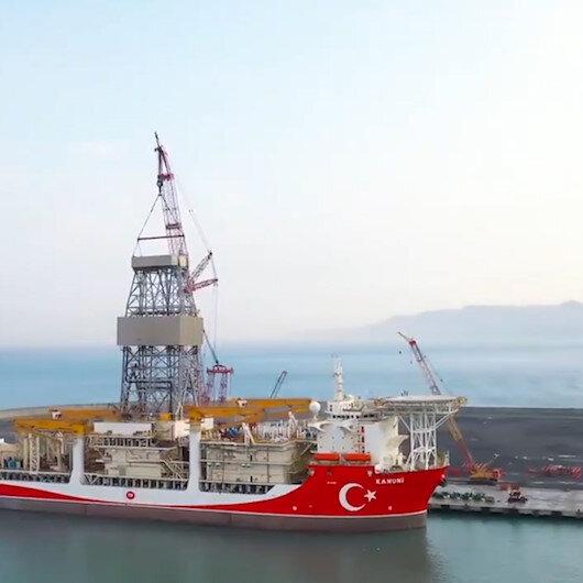 Kanuni, hırçın Karadeniz'de sondaja açılmak için hazırlanıyor