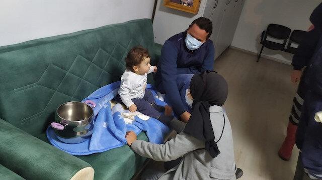 Nevşehir'de inanılmaz olay: Bebek düdüklü tencereye sıkıştı
