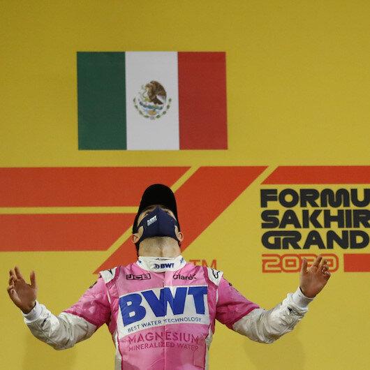 Sergio Perez wins his 1st Formula 1 race in Sakhir GP