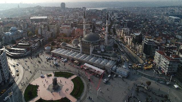 Taksim Camii'nde sona yaklaşıldı: Ramazan ayında açılacak