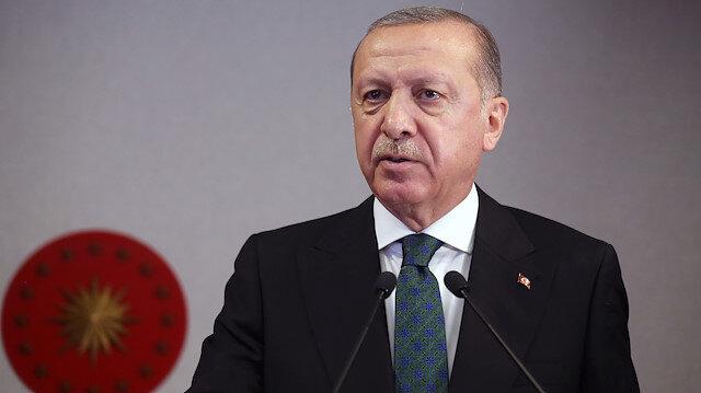 Cumhurbaşkanı Erdoğan'dan Doğu Akdeniz Çalıştayı'nda net mesaj: Tribünden izleyemeyiz