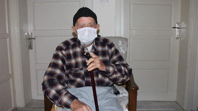 95 yaşında koronavirüsü yendi: Ondan daha tehlikeli bir şey yok
