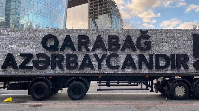 Azerbaycan'dan anlamlı gönderme: Ermenistan'ın plakalı şovuna yıllar sonra cevap verildi