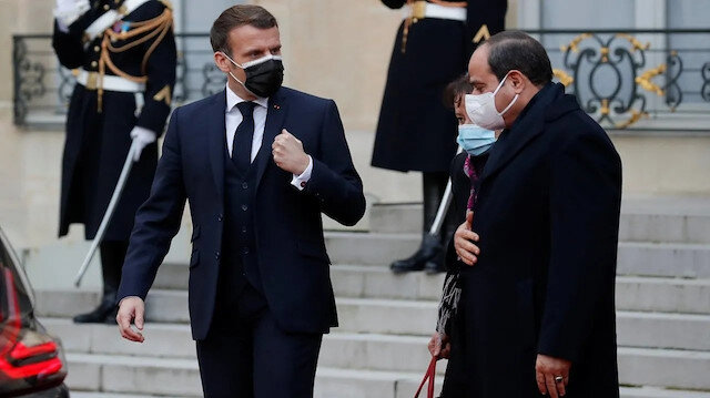 Cumhurbaşkanı Macron'un darbeci Sisi'ye 'onur nişanı' verdiği ortaya çıktı