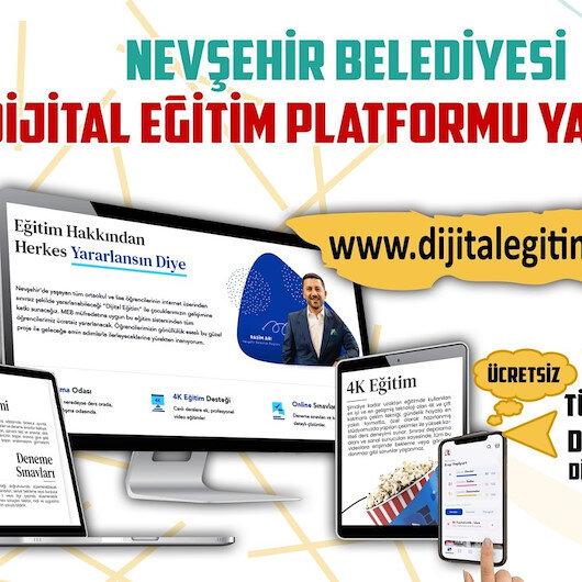 Nevşehir Belediyesi'nden binlerce öğrenciye dijital eğitim desteği