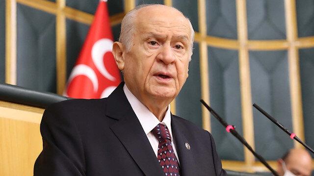MHP lideri Devlet Bahçeli: HDP bir terör sorunudur