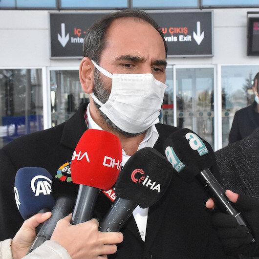 İsrailde saatlerce bekletilen Sivasspor kafilesi yurda döndü