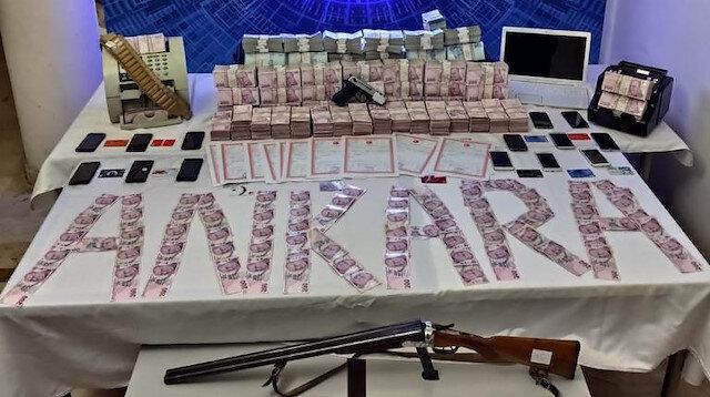 Yasa dışı bahis çetelerine darbe: 5 milyon lira ele geçirildi
