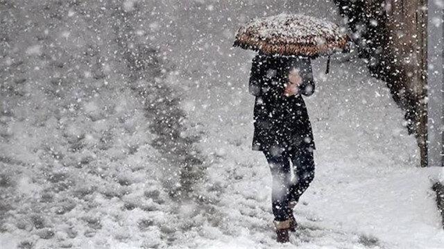 Türkiye'de bu hafta hava durumu: Sağanak ve karla karışık yağmur bekleniyor
