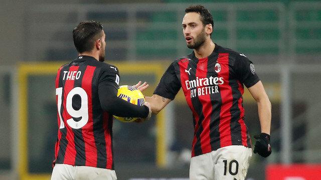 Hakan Çalhanoğlu'nun asisti Milan'a galibiyet için yetmedi (ÖZET)