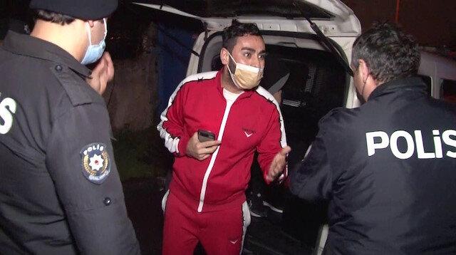 Eve kurşun yağdıran saldırgan polisleri tehdit etti: Sizi Doğu'ya sürdürürüm