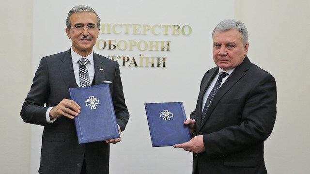 Ukrayna ve Türkiye arasında İHA ve korvet üretimi için anlaşmalar imzalandı