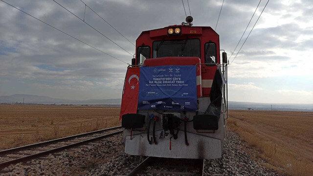 Çin'e ihracat treni Kazakistan'da