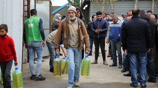 Türkiye, Filistinli mülteciler için harekete geçti