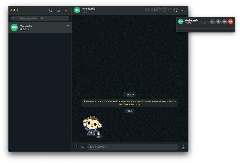 WhatsApp, bu yeni güncellemeyle birlikte bilgisayar üzerinden de sesli ve görüntülü görüşme yapmayı sağlıyor.
