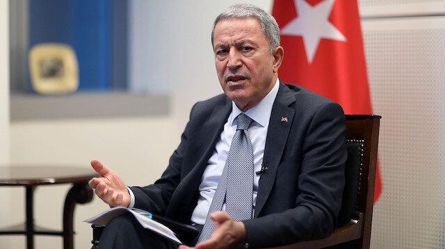 Milli Savunma Bakanı Akar: Karadeniz'de herhangi bir gerilime meydan vermemek için her türlü tedbiri alıyoruz