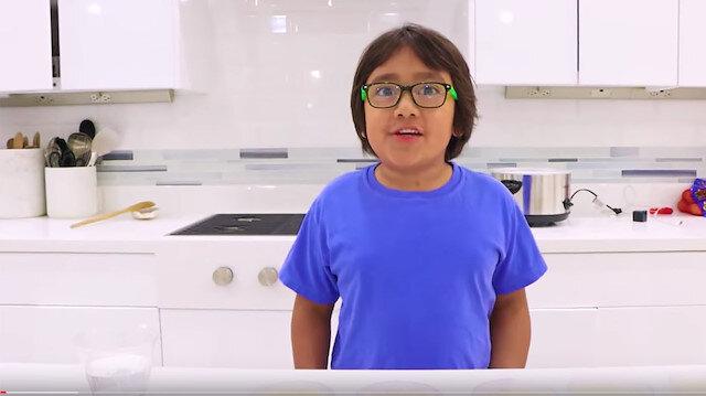 YouTube'un en çok kazananı değişmedi: 9 yaşındaki Ryan'ın kazancı şaşırttı