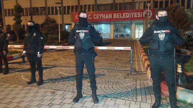 Adana'nın Ceyhan Belediyesi'nde rüşvet operasyonu